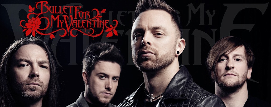 Атрибутика Bullet For My Valentine в Castle Rock