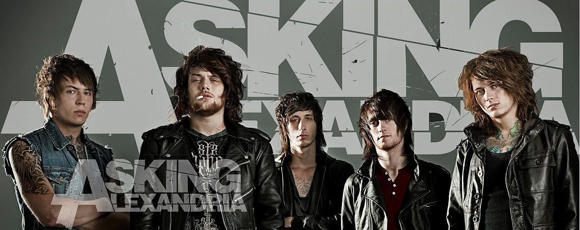 Атрибутика Asking Alexandria в Castle Rock