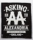 "нашивка asking alexandria ""from death to destiny"""