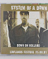 "CD System Of A Down ""Down On Holland"""