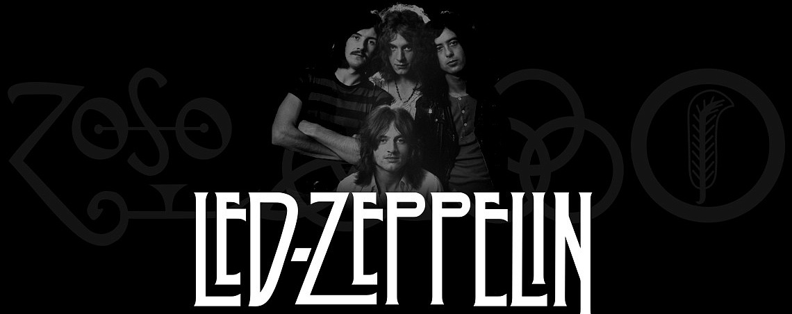 Атрибутика Led Zeppelin в Castle Rock