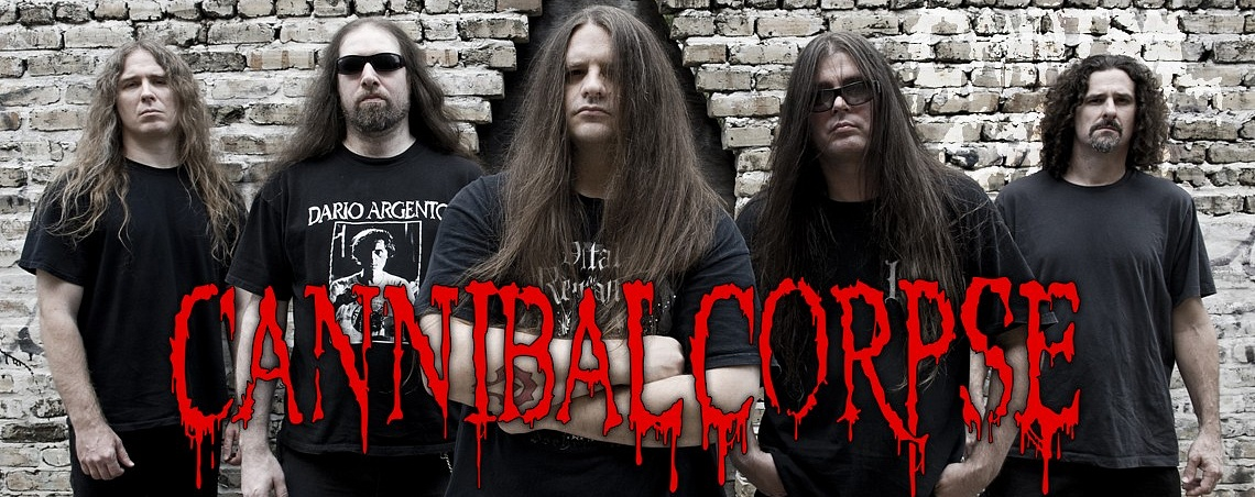 Атрибутика Cannibal Corpse в Castle Rock