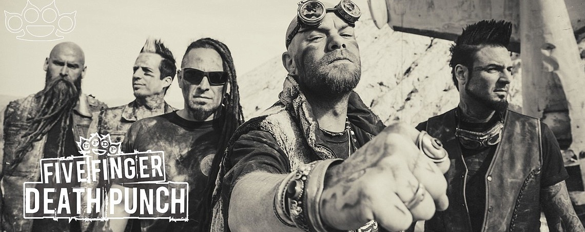 Атрибутика Five Finger Death Punch в Castle Rock