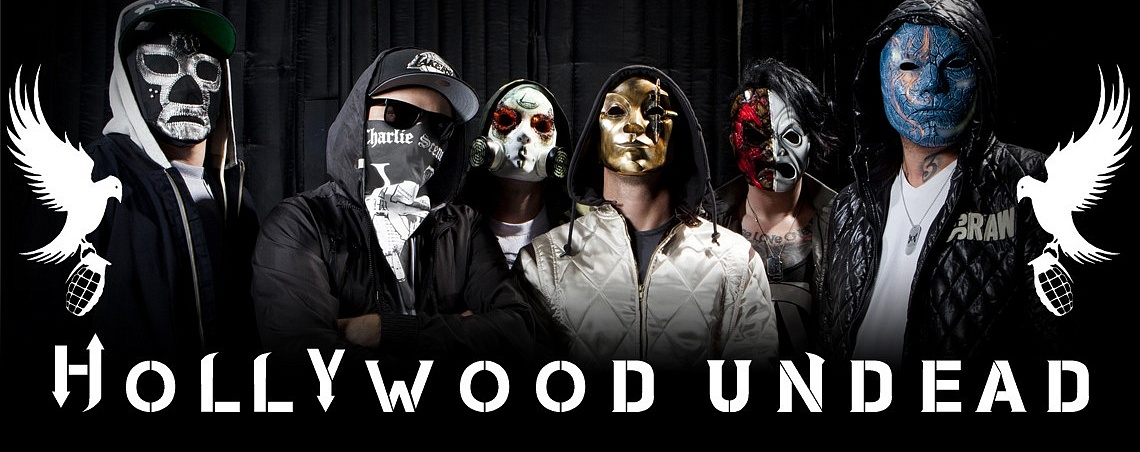 Атрибутика Hollywood Undead в Castle Rock